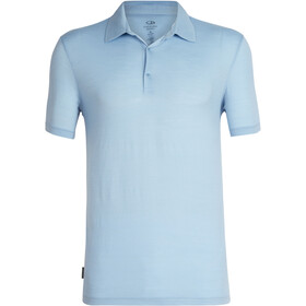 Icebreaker Tech Lite Polo manches courtes Homme, sky